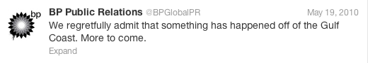 BP tweet