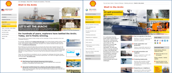 Shell_website